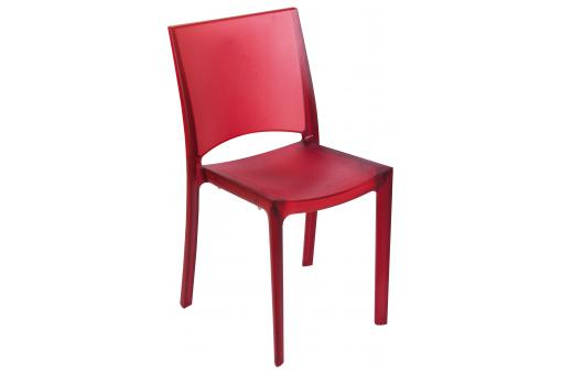 Chaise Design Rouge SOMMET
