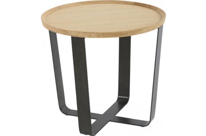 bout de canap rond joe design pas cher sur sofactory. Black Bedroom Furniture Sets. Home Design Ideas
