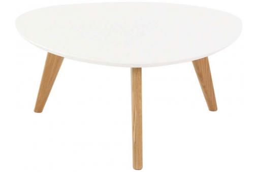 Table Basse Ronde Blanche NANNA SoFactory