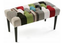 Banc Patchwork Multicolore CLARENCE