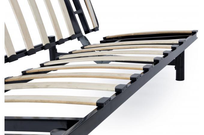 Banquette Clic Clac M Tal Noir Structure Seule Plus Design