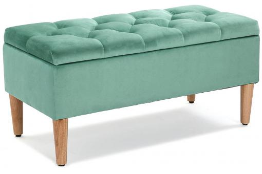 Banquette Coffre Turquoise REYES VE302301-0000