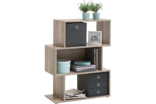 biblioth que asym trique 3 cases bolo ch ne fonc sauvage design en direct de l 39 usine sur sofactory. Black Bedroom Furniture Sets. Home Design Ideas