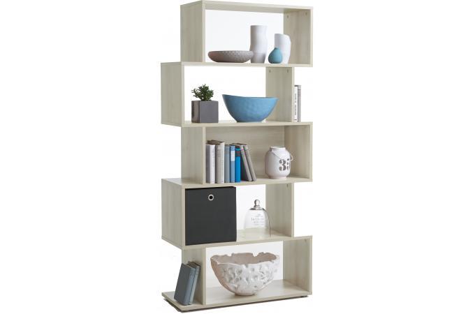 biblioth que asym trique 5 cases bolo m l ze design pas cher sur sofactory. Black Bedroom Furniture Sets. Home Design Ideas