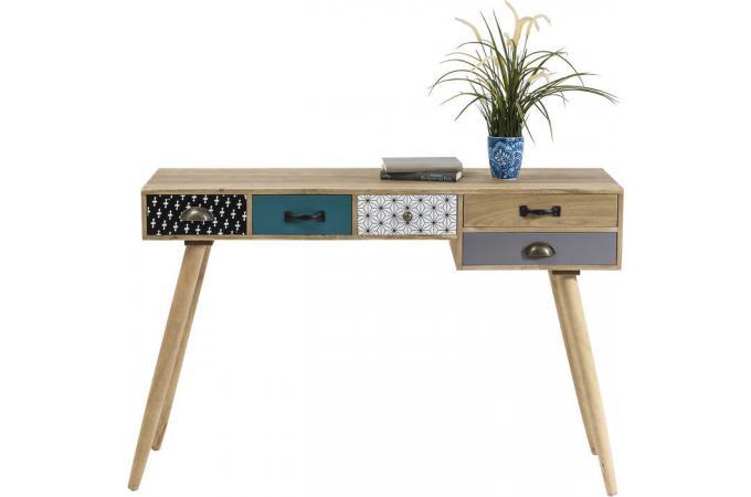 Bureau style scandinave capri design en direct de l 39 usine - Bureau blanc design pas cher ...
