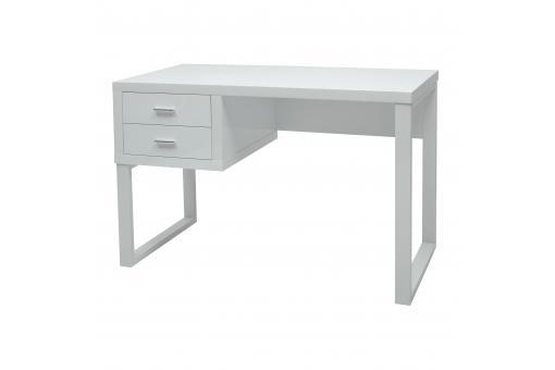 Bureau 2 tiroirs blanc walden design sur sofactory