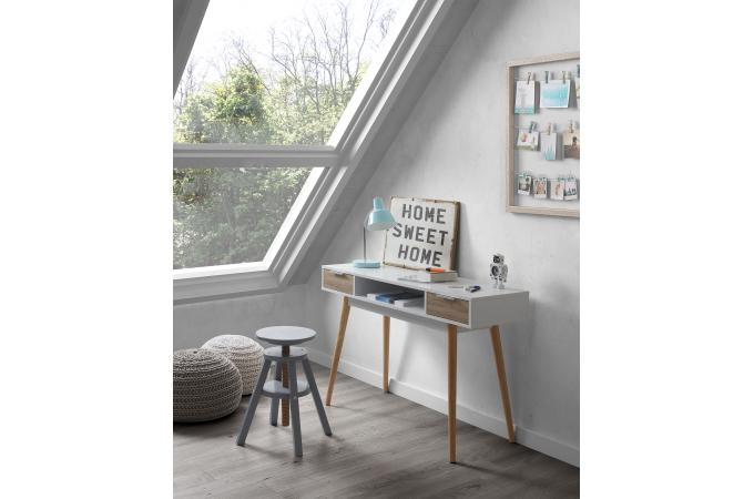 Bureau noel blanc dco table noel rouge bleu blanc et rouge