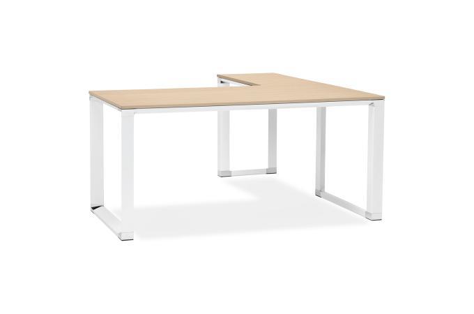 Bureau angle bois marron brand design sur sofactory