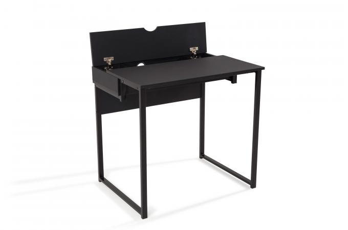 Bureau noir bureau blanc et noir bureau bureau ikea blanc et noir