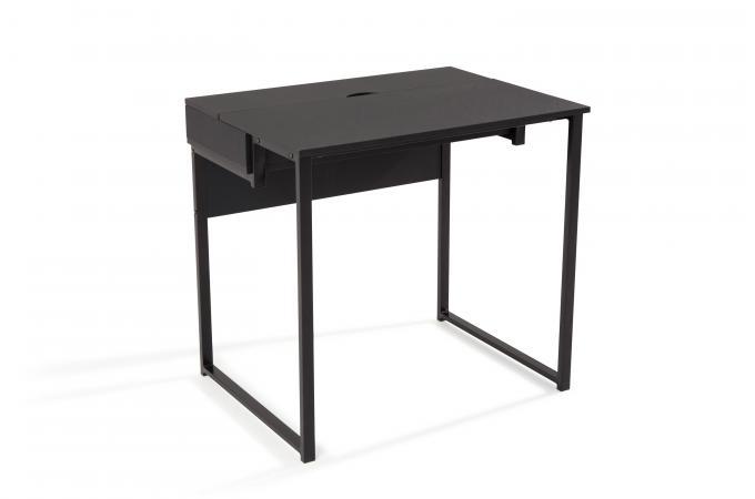 Bureau design noir gorina design sur sofactory