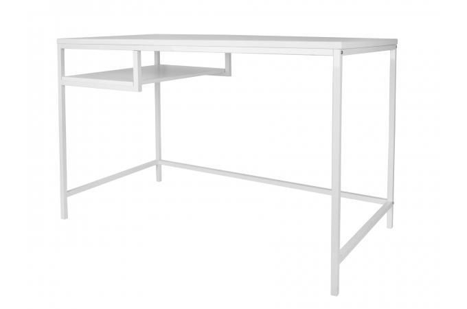 Bureau métal blanc kheima design sur sofactory