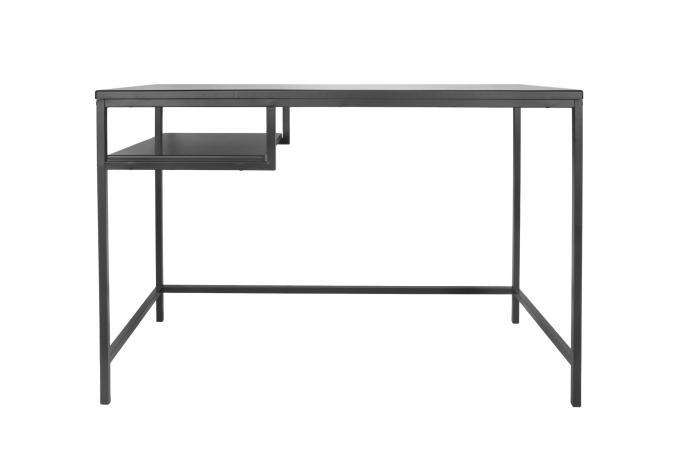 bureau m tal noir kheima design sur sofactory. Black Bedroom Furniture Sets. Home Design Ideas