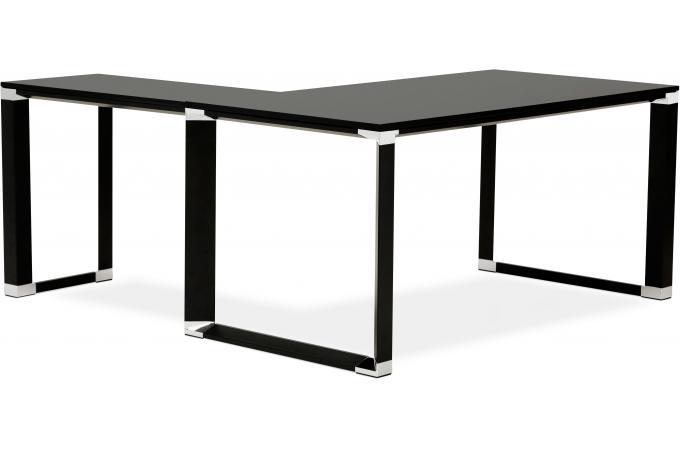 Bureau dangle noir 160x170x74 cm BRAND design sur SoFactory