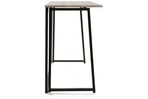 Bureau pliable bois m tal blesa design sur sofactory for Meuble bureau pliable