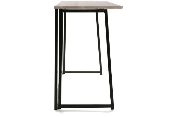 bureau pliable bois m tal blesa design sur sofactory. Black Bedroom Furniture Sets. Home Design Ideas