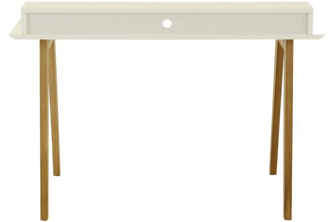 Bureau scandinave 3 niches blanc irene design sur sofactory