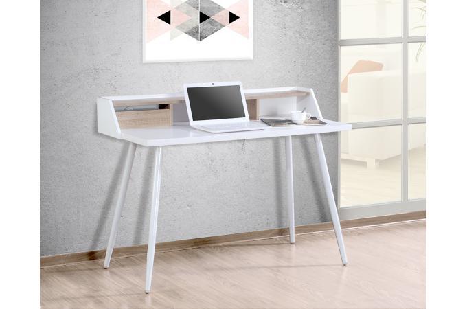 bureau scandinave blanc freyen design sur sofactory. Black Bedroom Furniture Sets. Home Design Ideas