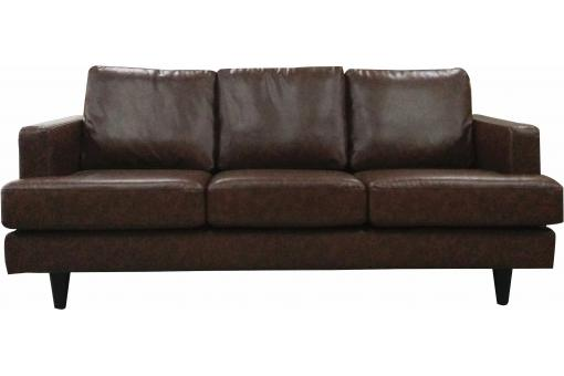 canap 3 places en simili cuir merlot design pas cher sur sofactory. Black Bedroom Furniture Sets. Home Design Ideas