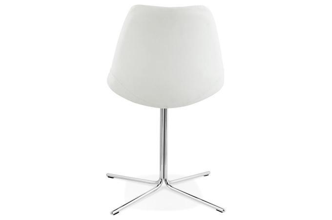 chaise avec coque blanc myriam design sur sofactory. Black Bedroom Furniture Sets. Home Design Ideas
