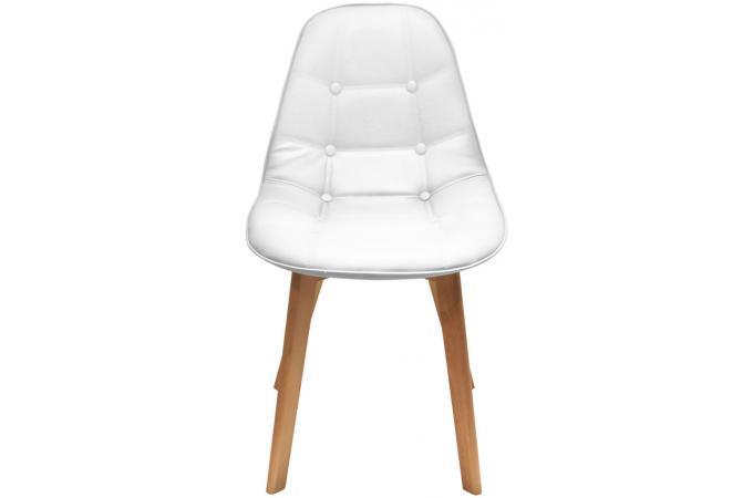 chaise capitonn e blanche ayse design sur sofactory. Black Bedroom Furniture Sets. Home Design Ideas