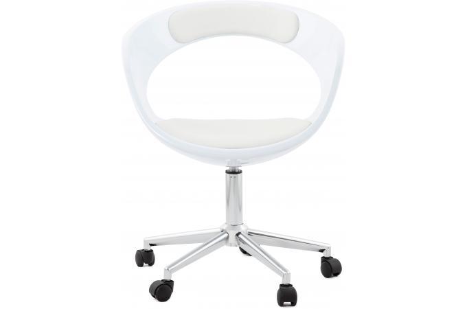 Chaise De Bureau Blanche Pivotante Aussi After Design En