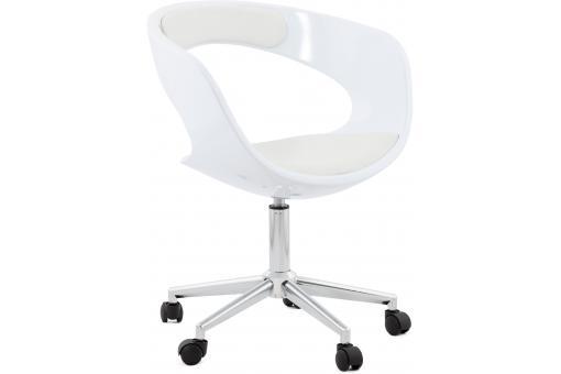 chaise de bureau blanche pivotante aussi after design sur sofactory. Black Bedroom Furniture Sets. Home Design Ideas