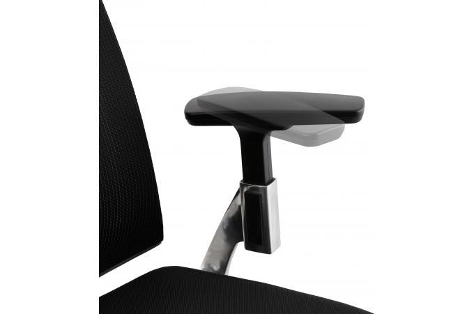 Chaise de bureau noire cm awa design sur sofactory