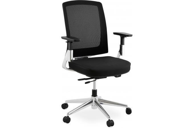 Chaise de bureau noire 65x68x111 cm awa design sur sofactory