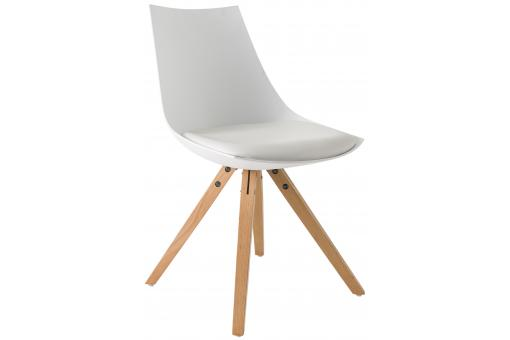 Chaise Scandinave Blanche MILAN