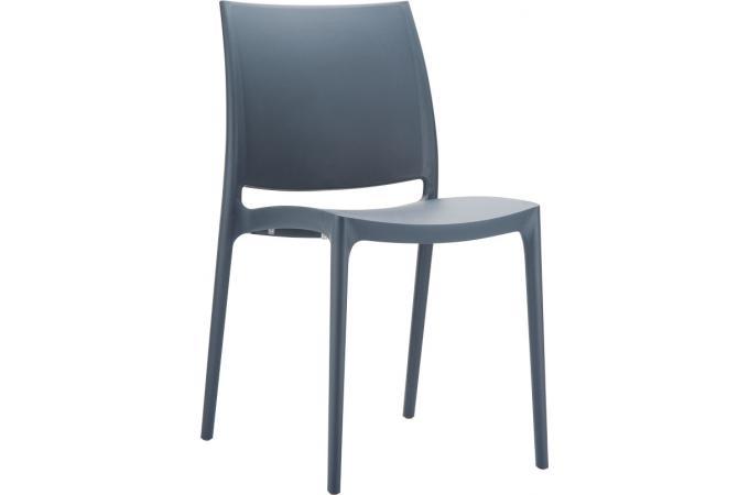 chaise design grise anthracite moov design sur sofactory. Black Bedroom Furniture Sets. Home Design Ideas