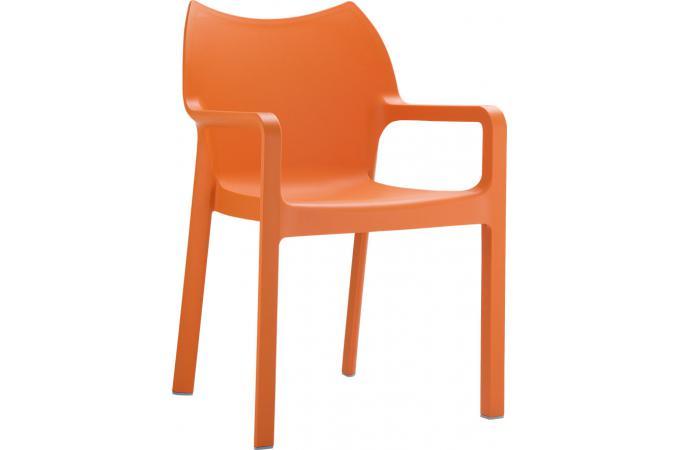 Chaise Design Orange DANS