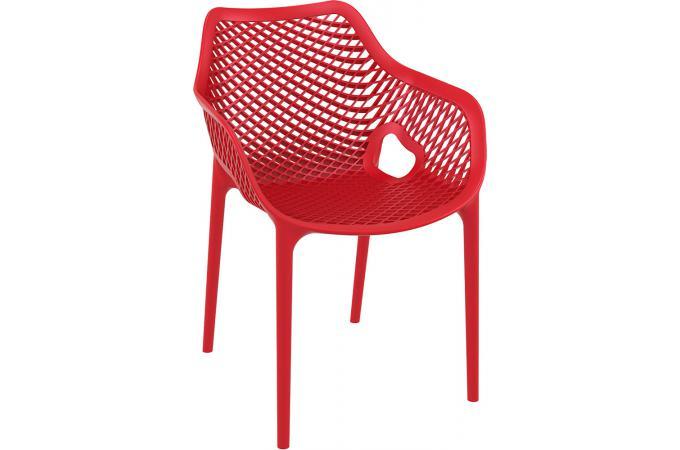 Chaise Design Rouge ALSTA
