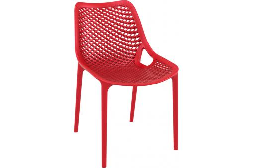 Chaise design  Rouge MENAZ