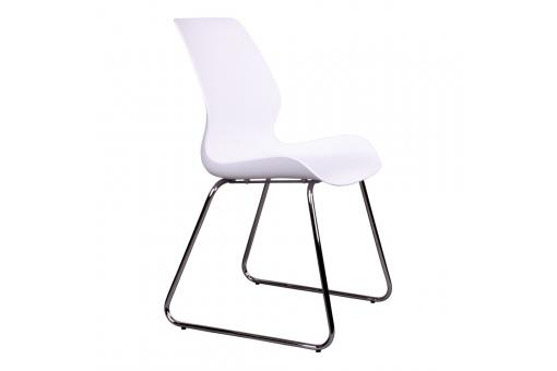 Chaise Design Blanche JEHANNE Ho296527-0000