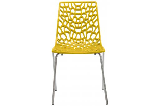 Chaise Design Jaune  TRAVIOLA