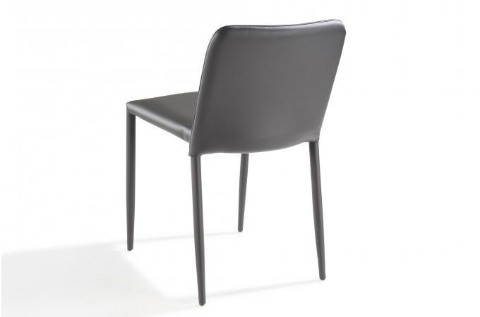 Chaise design noire sergen design sur sofactory for Acheter chaise design
