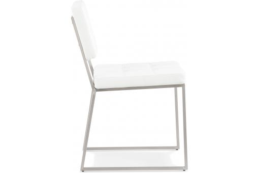 Chaise Design Retro Blanche HORON KO190766-0000