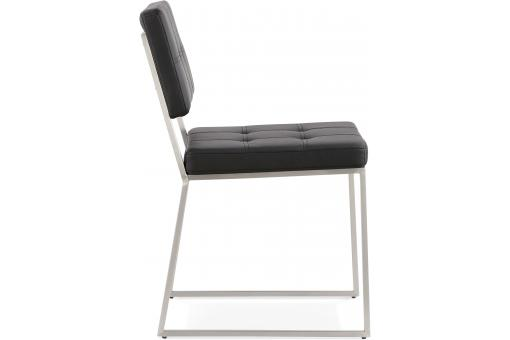 Chaise Design Retro Noire HORON KO190764-0000