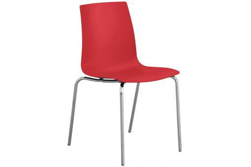 Chaise Design Rouge Mat ARC SoFactory