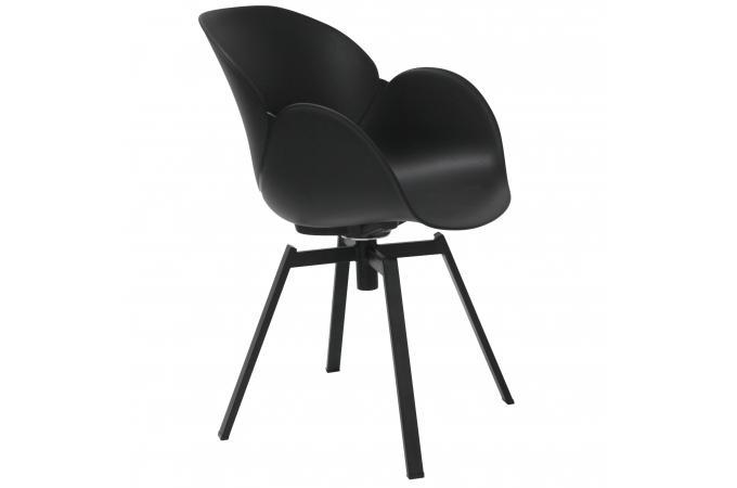chaise design scandinave noire evana design sur sofactory. Black Bedroom Furniture Sets. Home Design Ideas
