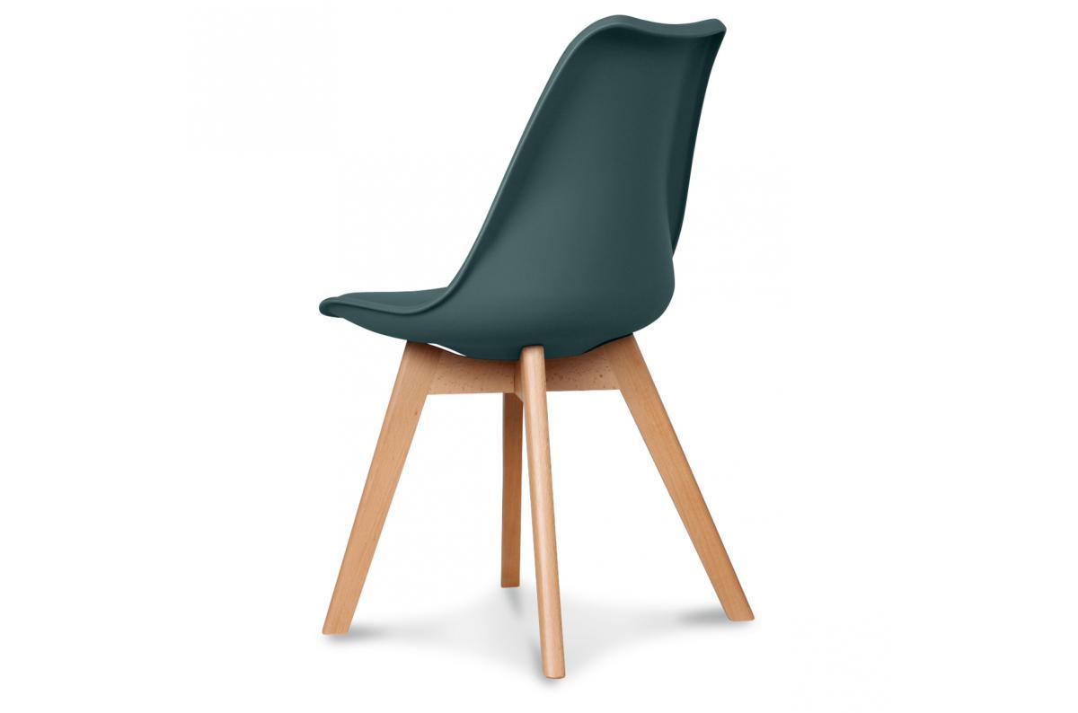 Chaise Design Style Scandinave Bleu Foncé BENO design sur