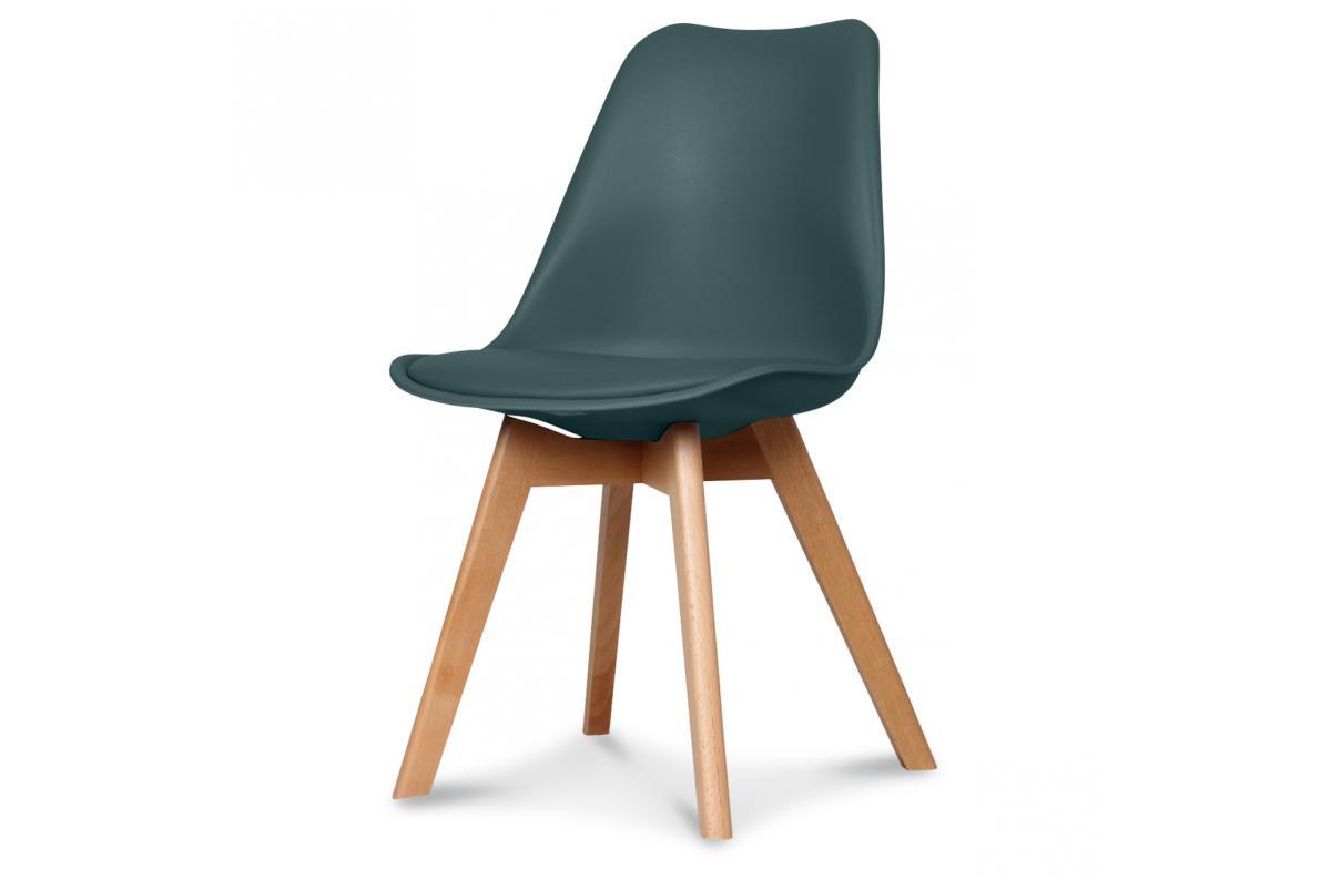Chaise Design Style Scandinave Bleu Foncé BENO