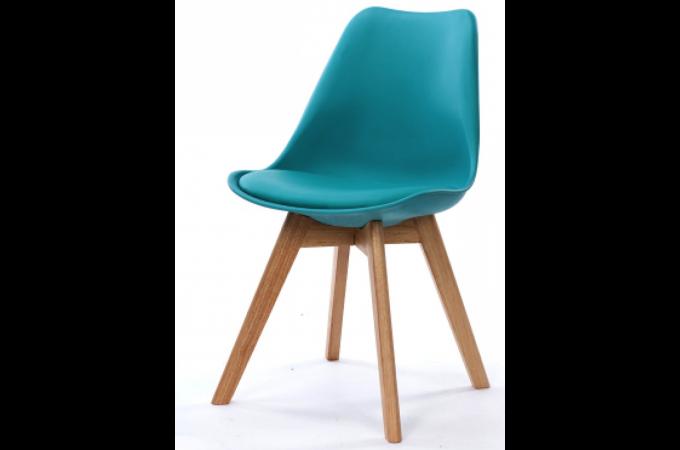 chaise design style scandinave turquoise sweden design sur sofactory. Black Bedroom Furniture Sets. Home Design Ideas