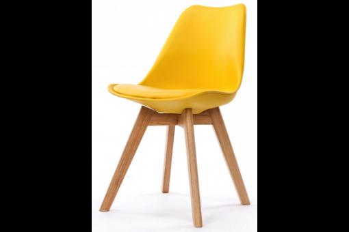 chaise design style scandinave jaune sweden design sur sofactory. Black Bedroom Furniture Sets. Home Design Ideas