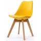 Chaise Design Style Scandinave Jaune SWEDEN