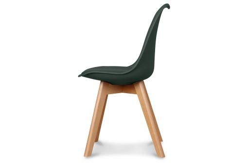 Chaise Design Style Scandinave Vert Forêt BENO OP402035-0000