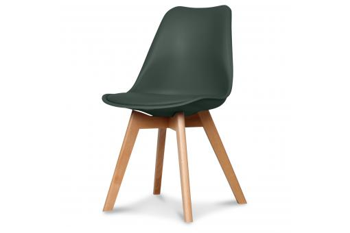 Chaise Design Style Scandinave Vert Forêt BENO SoFactory