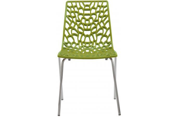 chaise design vert anis traviola design sur sofactory. Black Bedroom Furniture Sets. Home Design Ideas