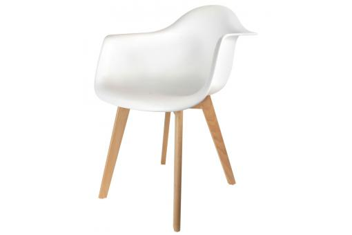 Chaise Enfant avec Accoudoirs Scandinave Blanc BABY NORWAY SoFactory
