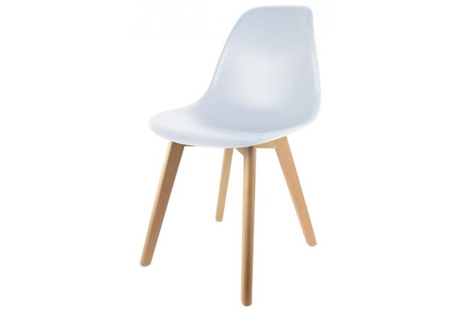 Chaise Enfant Scandinave Blanc BABY NORWAY